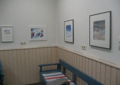 """""""Nordlichter"""" mit Kerstin Schmidt (Schweden), Atelierausstellung in Herne, 2010"""