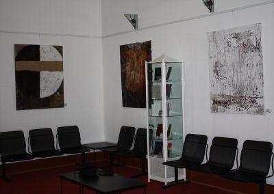 """Jahresausstellung des HKB, Rathaus Herne, 2010/11, 3 Werke aus """"Wortbilder 2010"""""""