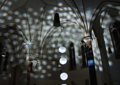 """Installation """"Zwischenlicht"""", crikraculum, Licht: Jan Seifert"""