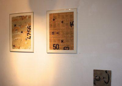 """Dinge müssen, Wesen können wollen"" mit U.Commandeur (Keramik) und L.Lukas (Keramik u. Grafik), Castrop-Rauxel, 2016"