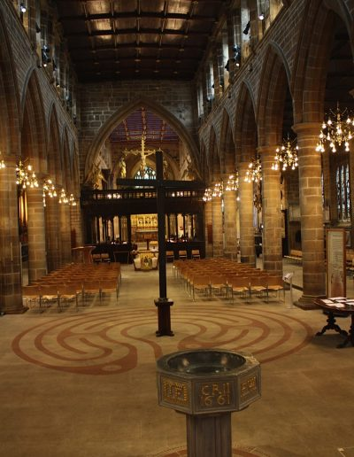 Wakefield Cathedral, Nordengland