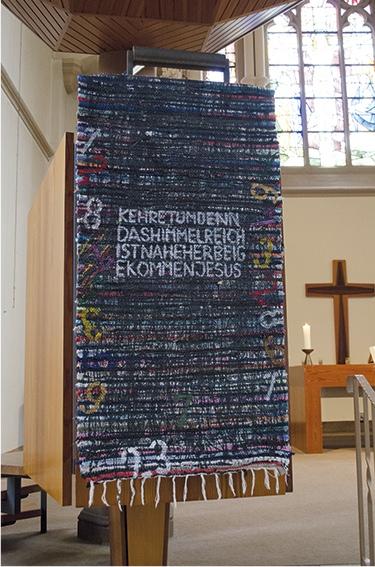 """""""Die 4 Säulen der Reformation"""", Teilansicht, 2017"""