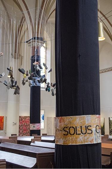 """""""Die 4 Säulen der Reformation"""",Teilansicht, in """"Betreff:Luther"""", 2017"""