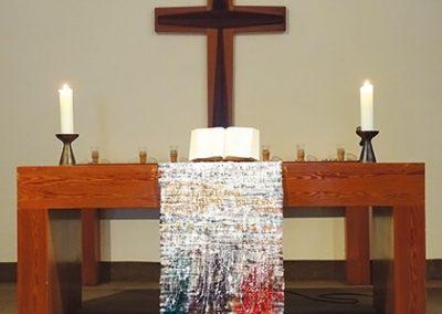 """""""Die 4 Säulen der Reformation"""", Teilansicht, 2017, Christuskirche Wanne-Eickel"""